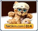 قالب دوستونه خرس کوچولو – قالب شماره ۱۴