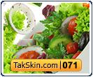 قالب دو ستونه سبزیجات – قالب شماره ۷۱