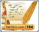 قالب وبلاگ دو ستونه دست نوشته – قالب شماره ۱۰۴