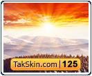 قالب وبلاگ سه ستونه خورشید کوهستان – قالب شماره ۱۲۵