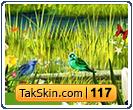 قالب وبلاگ دو ستونه گل و طبیعت – قالب شماره ۱۱۷