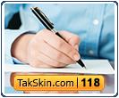 قالب وبلاگ دو ستونه نویسندگی – قالب شماره ۱۱۸