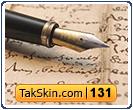 قالب وبلاگ سه ستونه دست نوشته – قالب شماره ۱۳۱