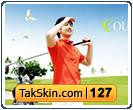 قالب وبلاگ دو ستونه ورزشی گلف – قالب شماره ۱۲۷