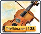 قالب وبلاگ دو ستونه فانتزی گیتار – قالب شماره ۱۲۸