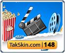 قالب وبلاگ سه ستونه سینما – قالب شماره ۱۴۸