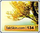 قالب وبلاگ دو ستونه پاییز – قالب شماره ۱۳۴