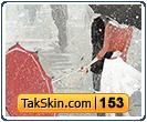 قالب وبلاگ دو ستونه عاشقانه زمستانی – قالب شماره ۱۵۳