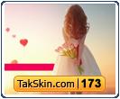 قالب وبلاگ دو ستونه دخترانه عاشقانه – قالب شماره ۱۷۳