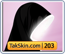 قالب وبلاگ سه ستونه حجاب – قالب شماره ۲۰۳