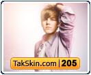 قالب وبلاگ سه ستونه جاستین بیبر Justin Bieber – قالب شماره ۲۰۵