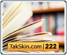 قالب وبلاگ سه ستونه کتابخانه – قالب شماره ۲۲۲