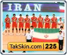 قالب وبلاگ سه ستونه تیم ملی والیبال – قالب شماره ۲۲۵