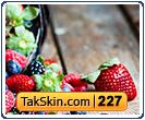 قالب وبلاگ سه ستونه توت فرنگی – قالب شماره ۲۲۷