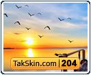 قالب وبلاگ دو ستونه برکه – قالب شماره ۲۰۴