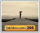 قالب وبلاگ دو ستونه تنهایی – قالب شماره ۲۰۵