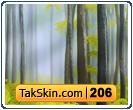 قالب وبلاگ دو ستونه جنگل رویایی – قالب شماره ۲۰۶