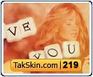 قالب وبلاگ دو ستونه عاشقانه دخترانه – قالب شماره ۲۱۹