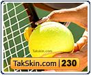 قالب وبلاگ سه ستونه تنیس – قالب شماره ۲۳۰