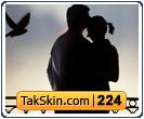 قالب وبلاگ دو ستونه عاشقانه – قالب شماره ۲۲۴