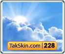 قالب وبلاگ دو ستونه اسمان – قالب شماره ۲۲۸