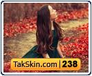 قالب وبلاگ دو ستونه دخترانه پاییزی – قالب شماره ۲۳۸