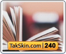 قالب وبلاگ دو ستونه کتابخانه – قالب شماره ۲۴۰