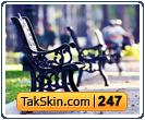 قالب وبلاگ دو ستونه پاییز تنهایی – قالب شماره ۲۴۷