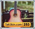 قالب وبلاگ دو ستونه گیتار – قالب شماره ۲۵۳