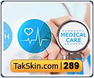 قالب وبلاگ سه ستونه پزشکی و سلامت – قالب شماره ۲۸۹
