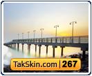 قالب وبلاگ دو ستونه غروب خورشید – قالب شماره ۲۶۷