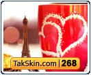 قالب وبلاگ دو ستونه عاشقانه – قالب شماره ۲۶۸