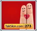 قالب وبلاگ دو ستونه عاشقانه دو نفره – قالب شماره ۲۷۳