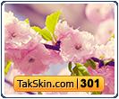 قالب وبلاگ سه ستونه شکوفه بهاری – قالب شماره ۳۰۱